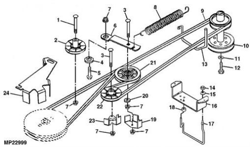 John Deere 970 Parts Diagram in addition John Deere Lt160 Parts furthermore John Deere Lt155 Diagram together with 5awsc Lt 166 John Deere Lawn Mower Developed moreover Yardman Riding Mower Parts Drive Belt Diagram. on john deere lt166 wiring diagram